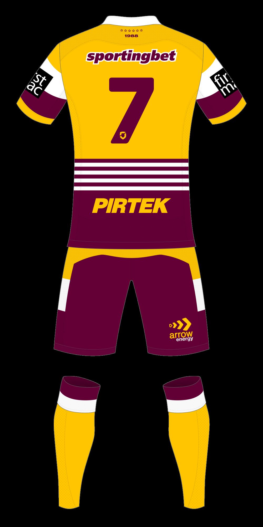 Brisbane Broncos Away Kit