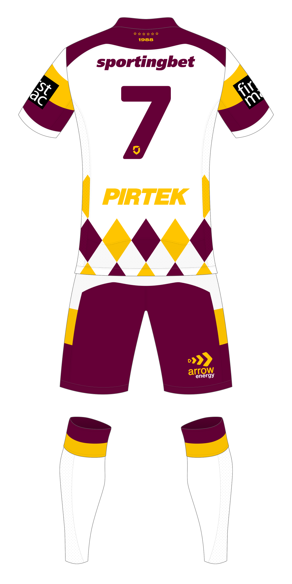 Brisbane Broncos Heritage Kit