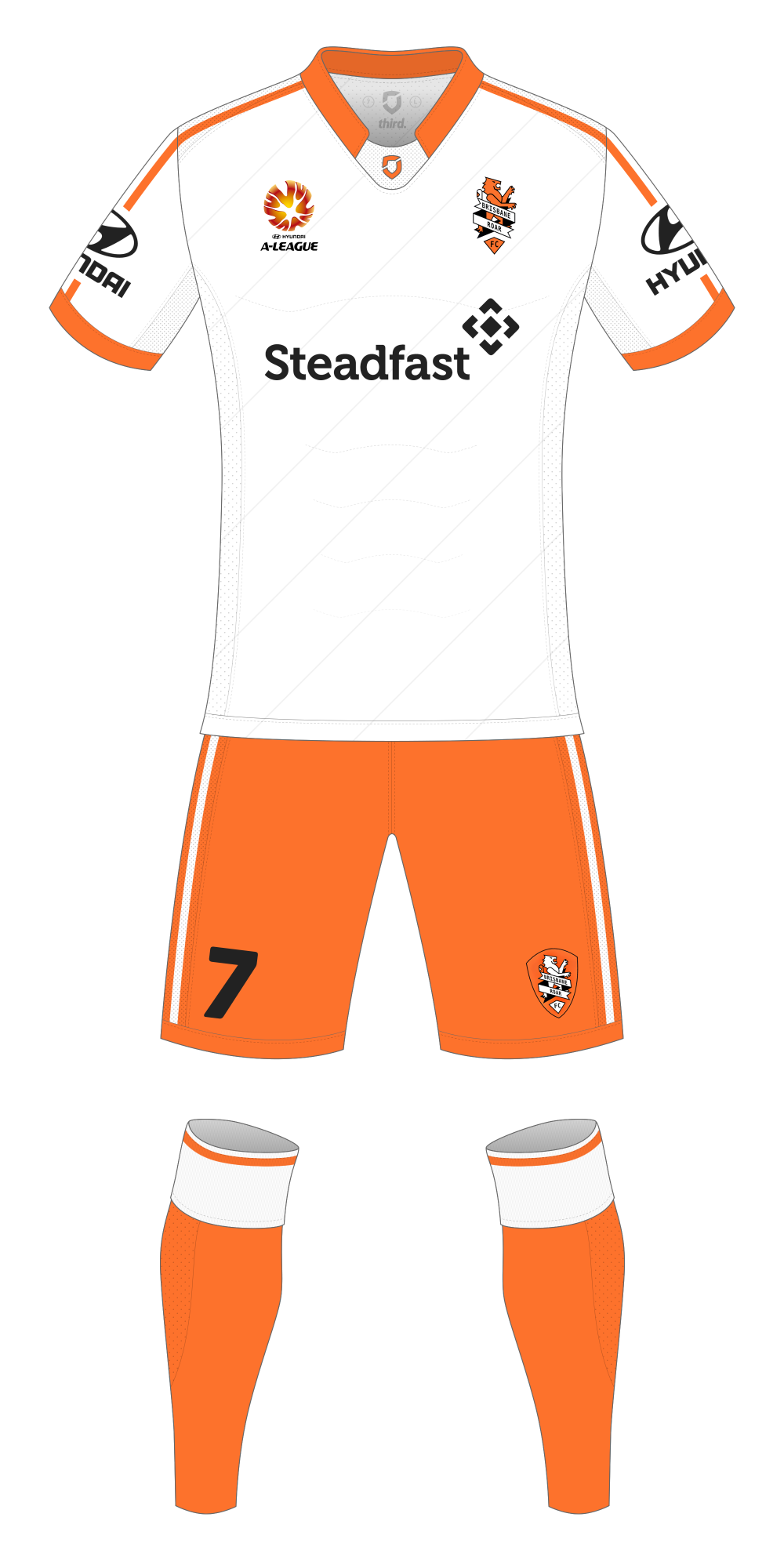 Brisbane Roar Away Kit