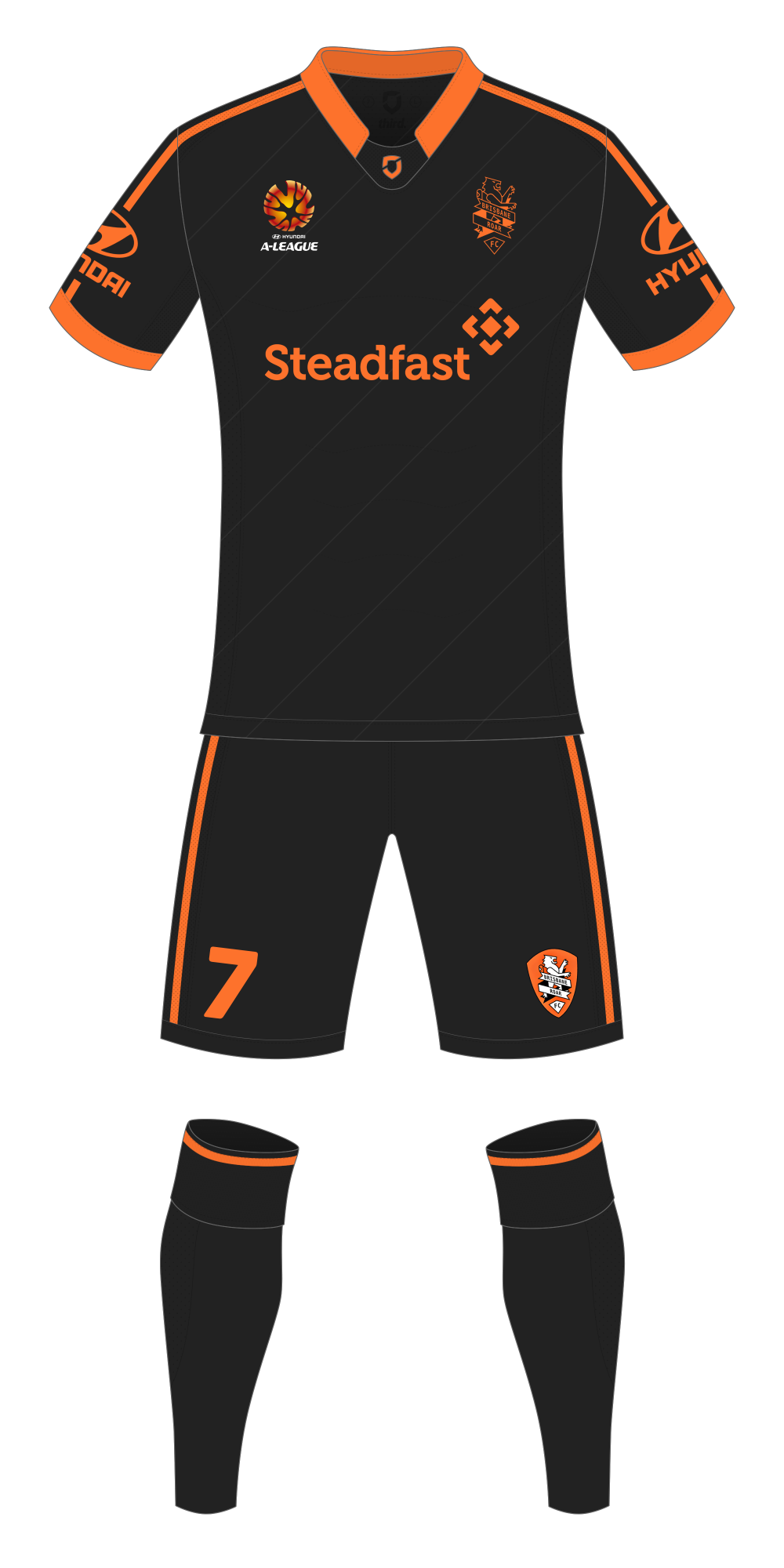 Brisbane Roar Third Kit