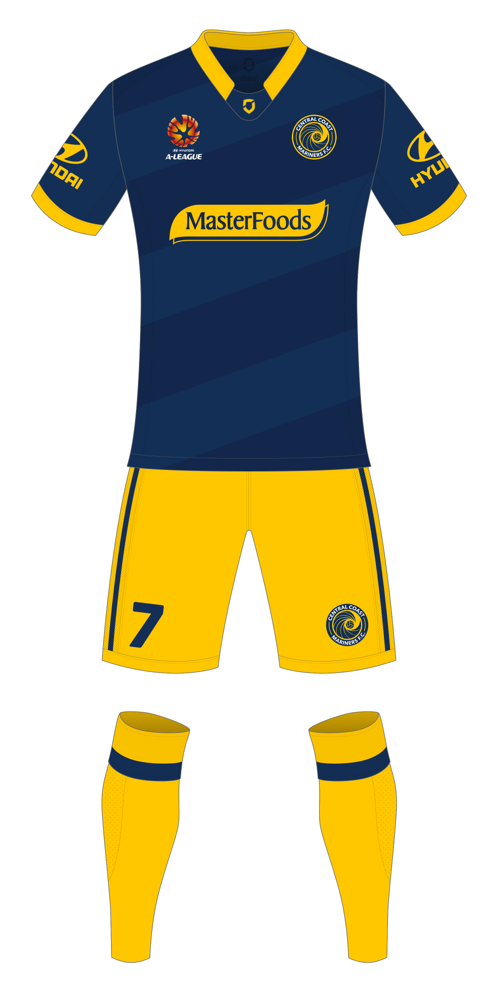 Central Coast Mariners Away Kit
