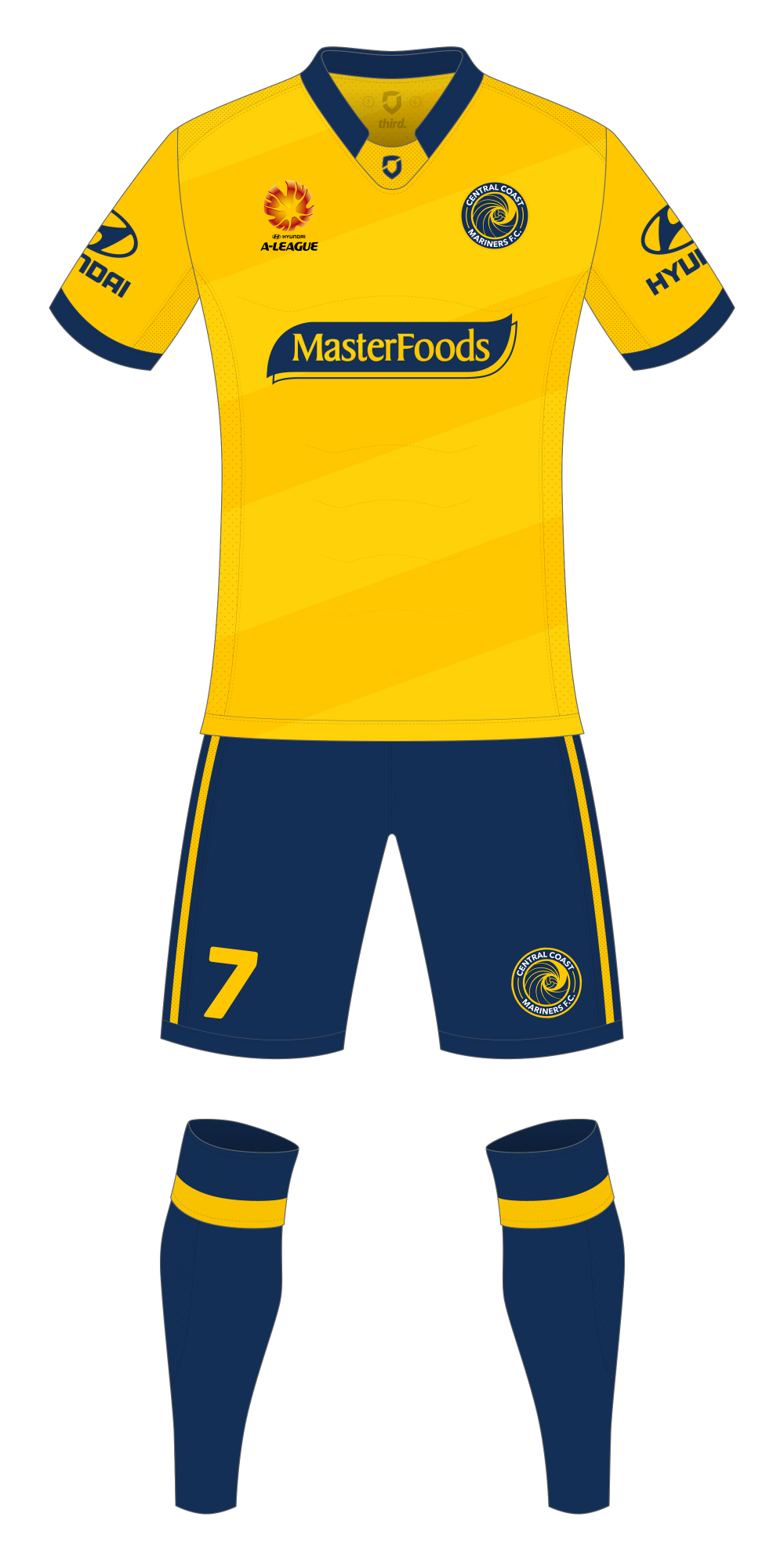Central Coast Mariners Home Kit