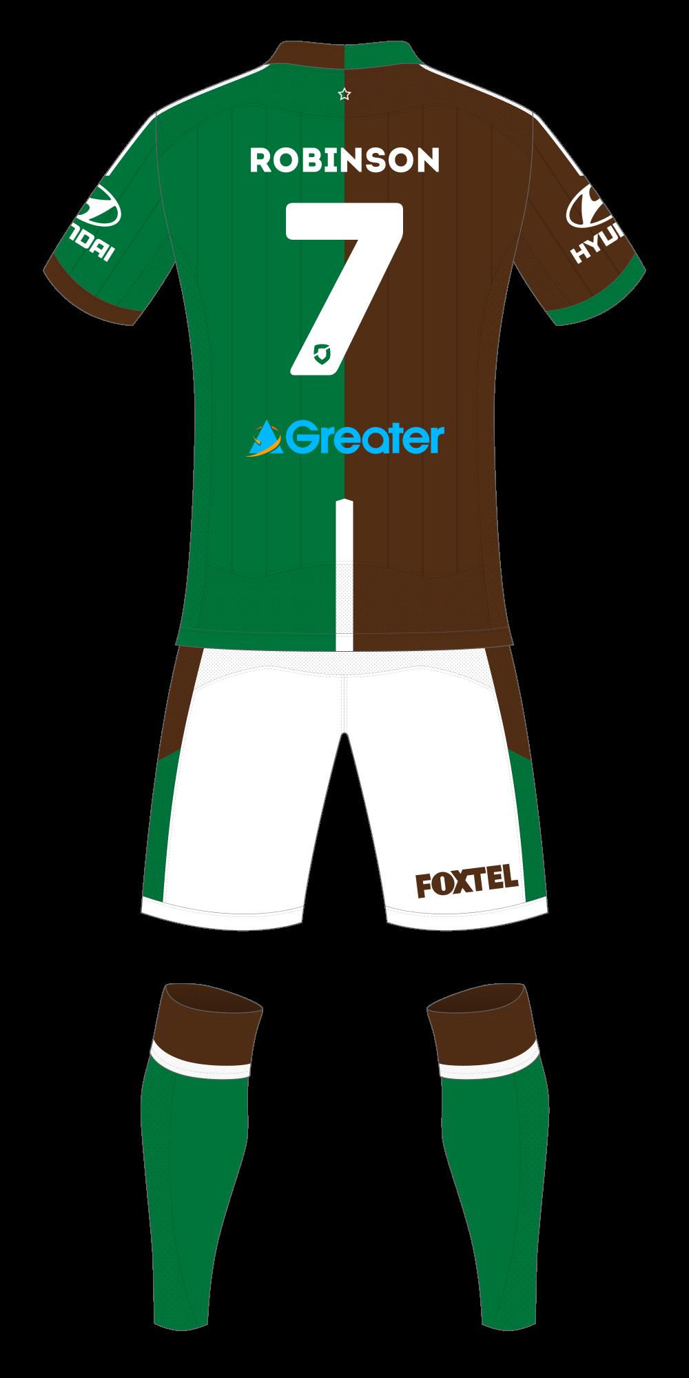 Newcastle Jets Away Kit