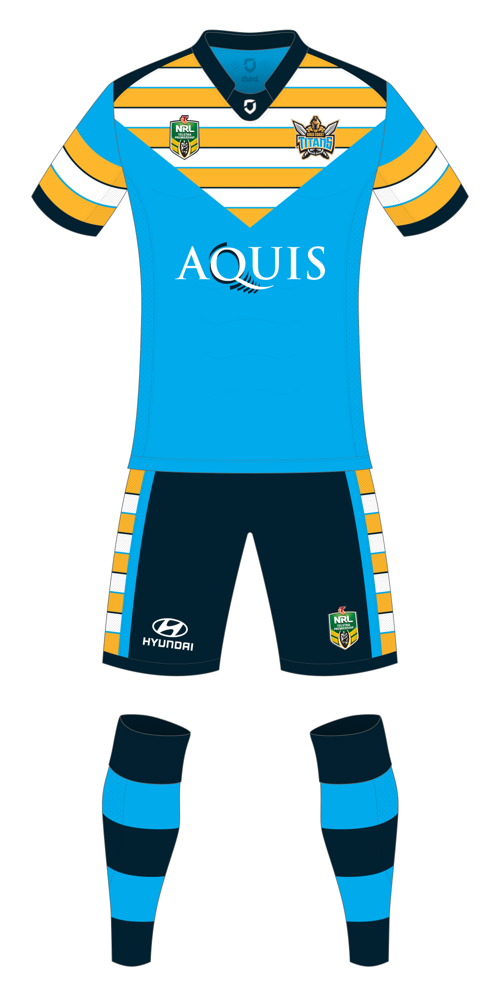 Gold Coast Titans Fauxback Friday