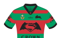South Sydney Rabbitohs Batman v Superman