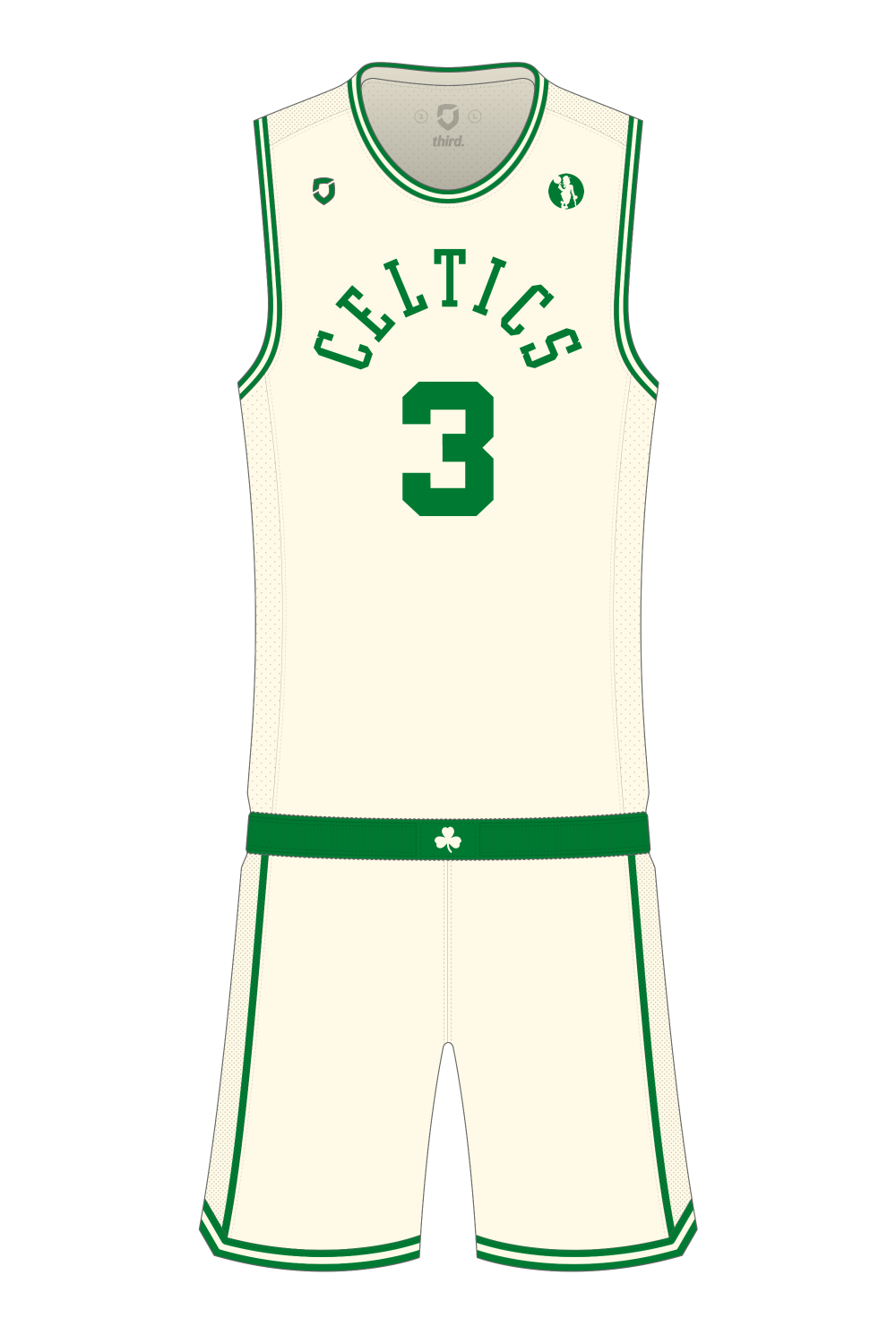 Boston Celtics Cream Alternate