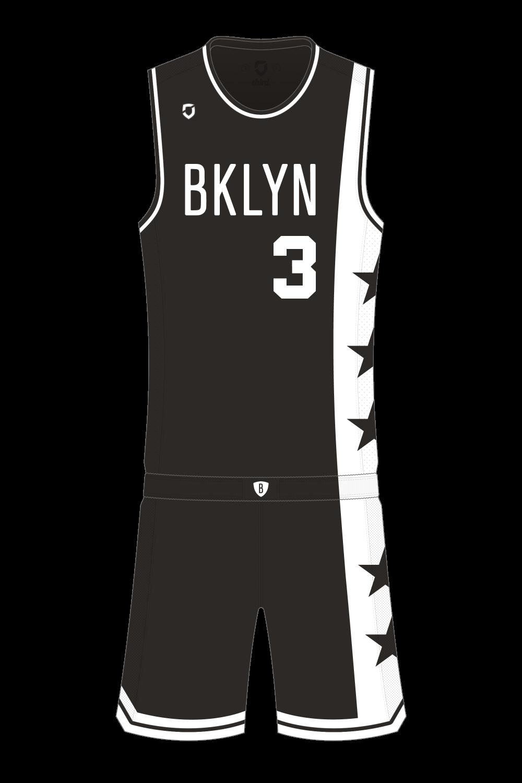 6caa6bab1 Brooklyn Nets Away — Third Sports Design by Dean Robinson