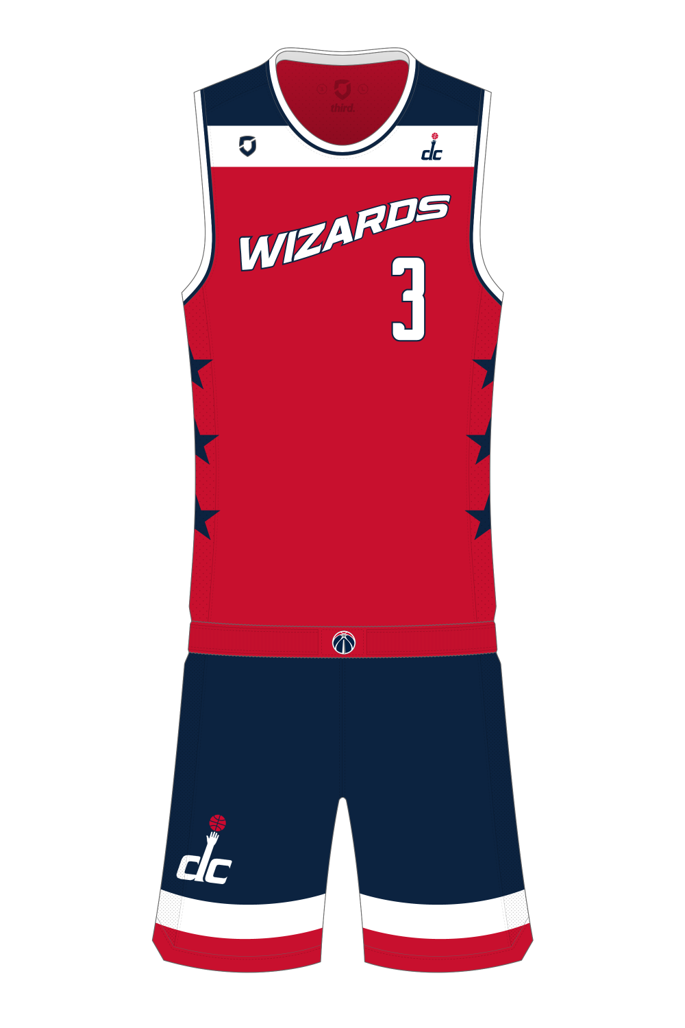 18b15a49f Washington Wizards Alternate — Third Sports Design by Dean ...