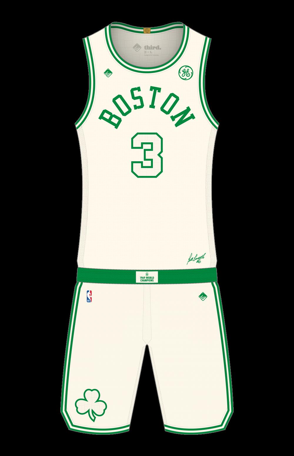 Boston Celtics City Edition 2019 Third Sports Design By Dean Robinson