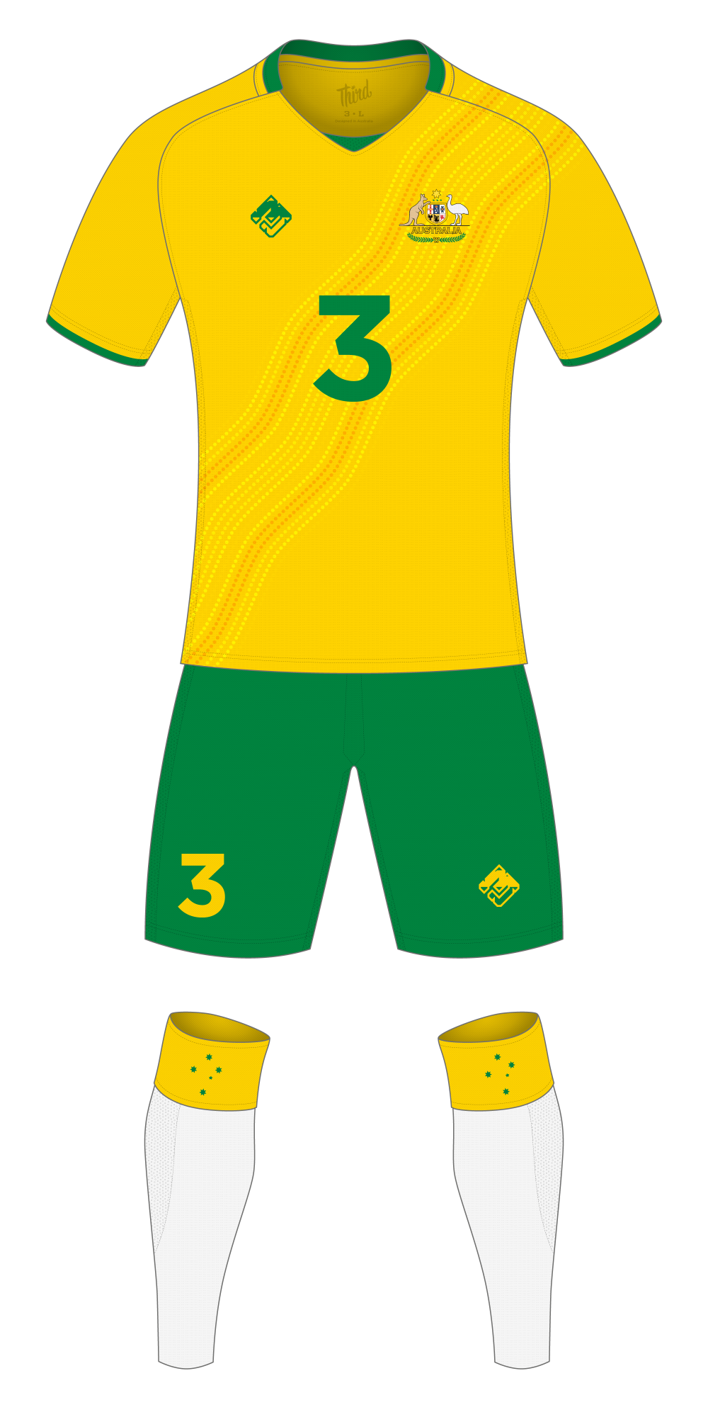 Australia World Cup 2018 concept