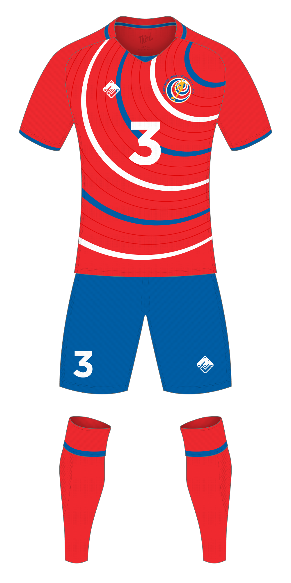 Costa Rica World Cup 2018 concept
