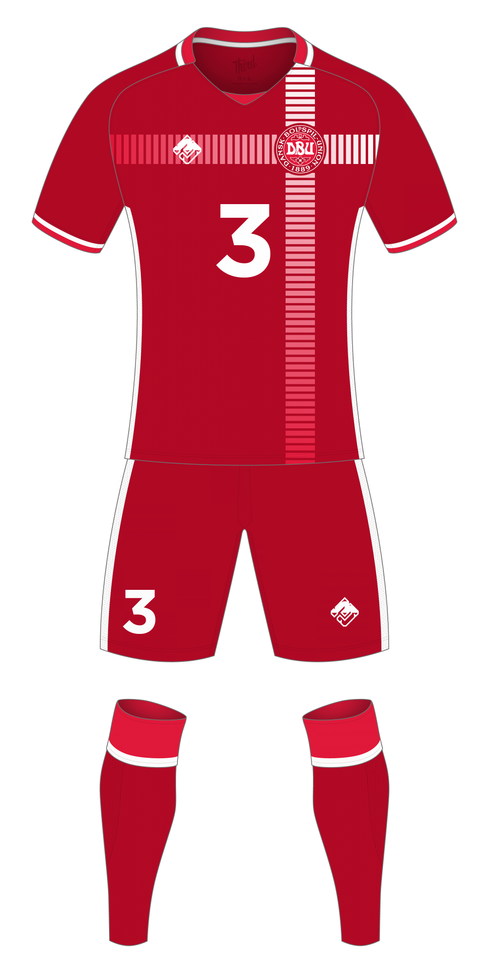 Denmark World Cup 2018 concept
