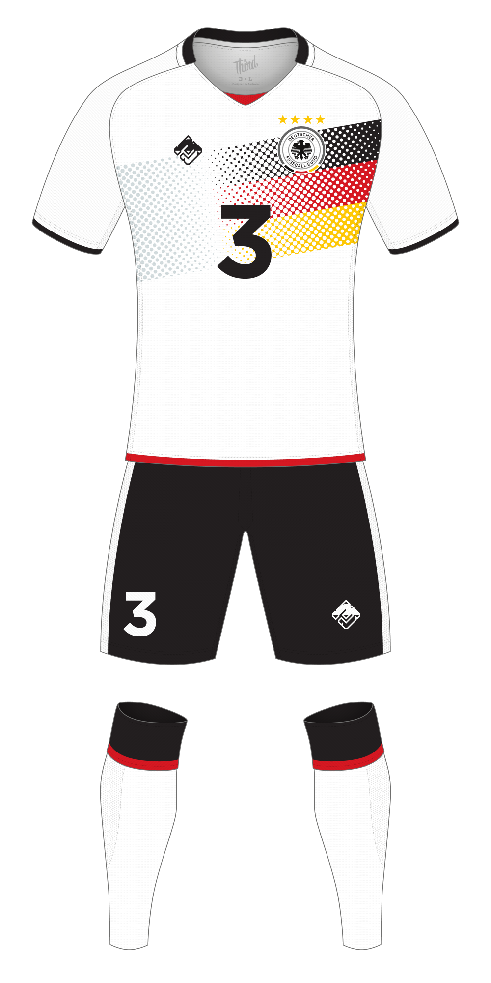 Germany World Cup 2018 concept
