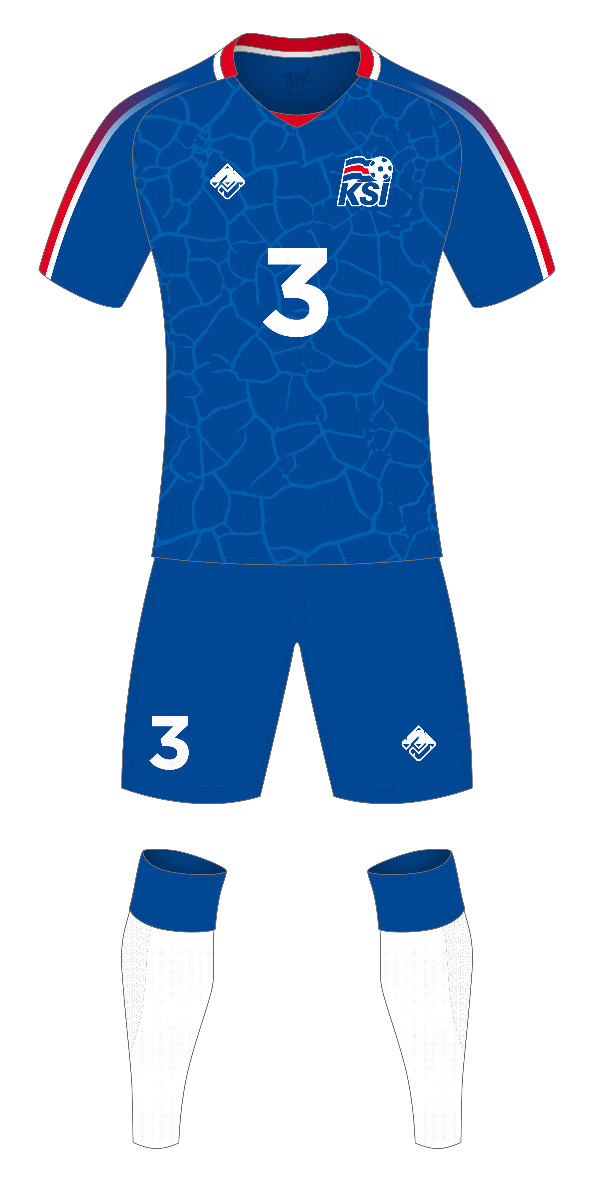 cheap for discount 05b11 a6b5c Iceland World Cup 2018 concept — Third Sports Design by Dean ...