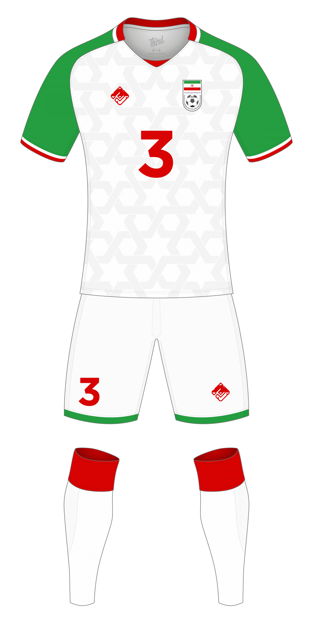 Iran World Cup 2018 concept