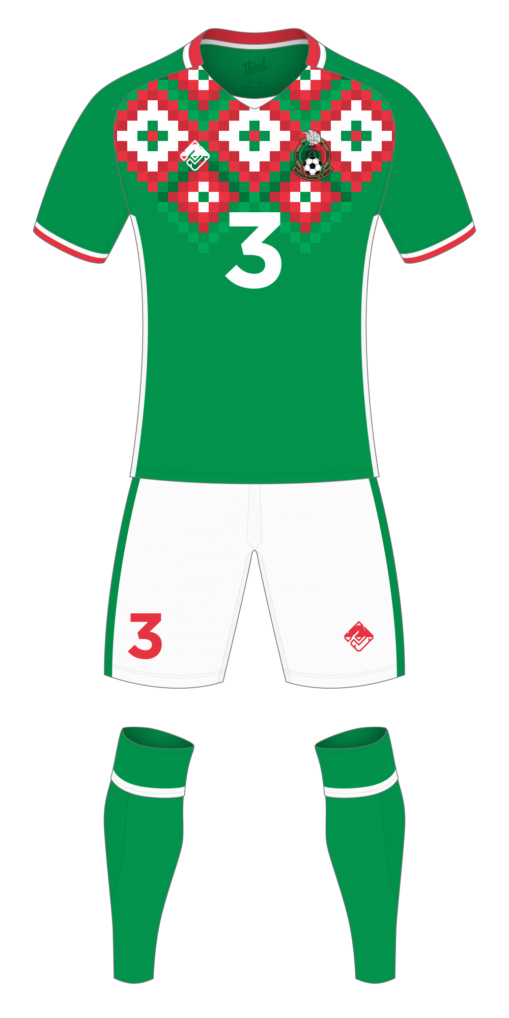 Mexico World Cup 2018 concept