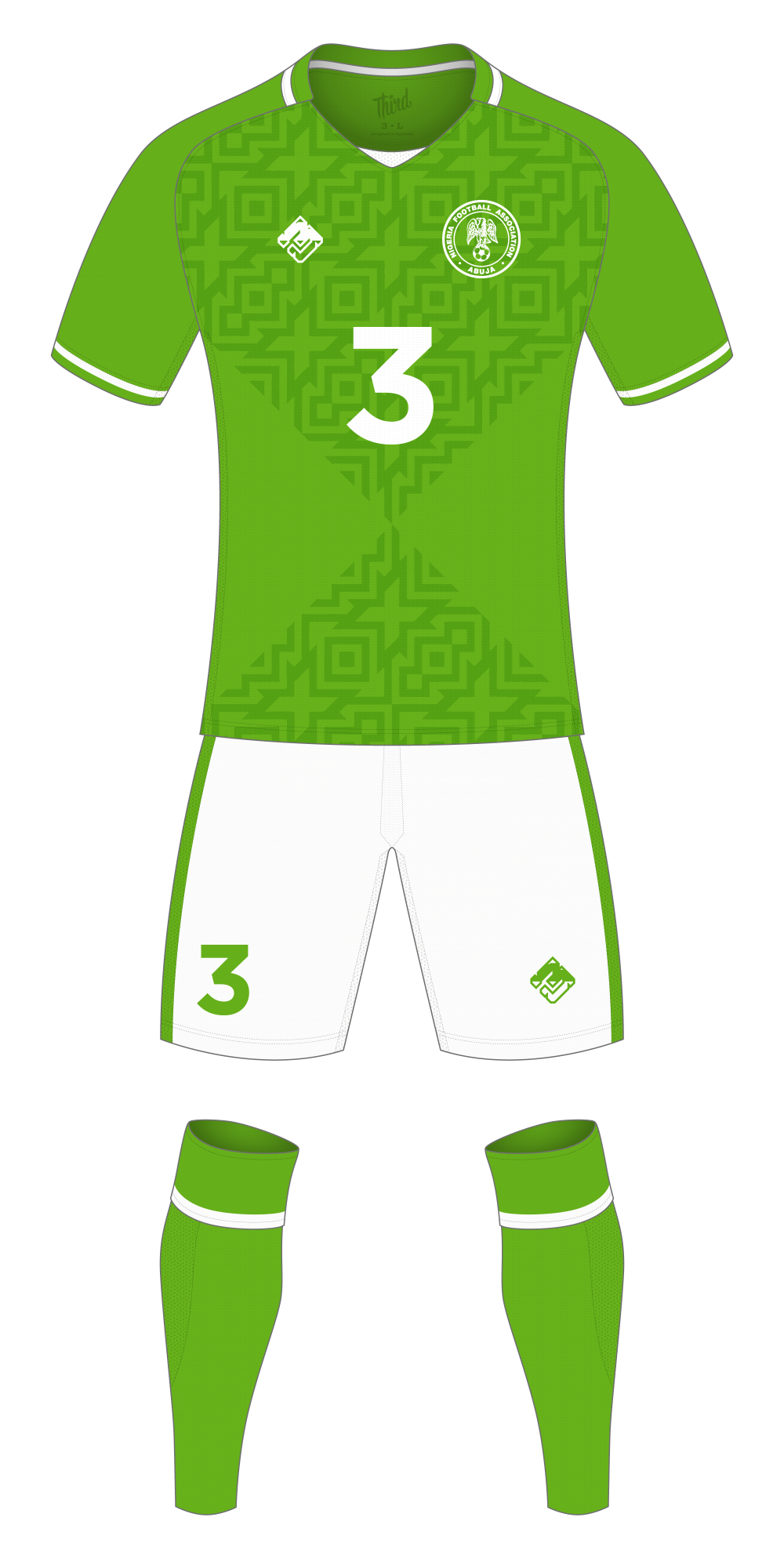 Nigeria World Cup 2018 concept
