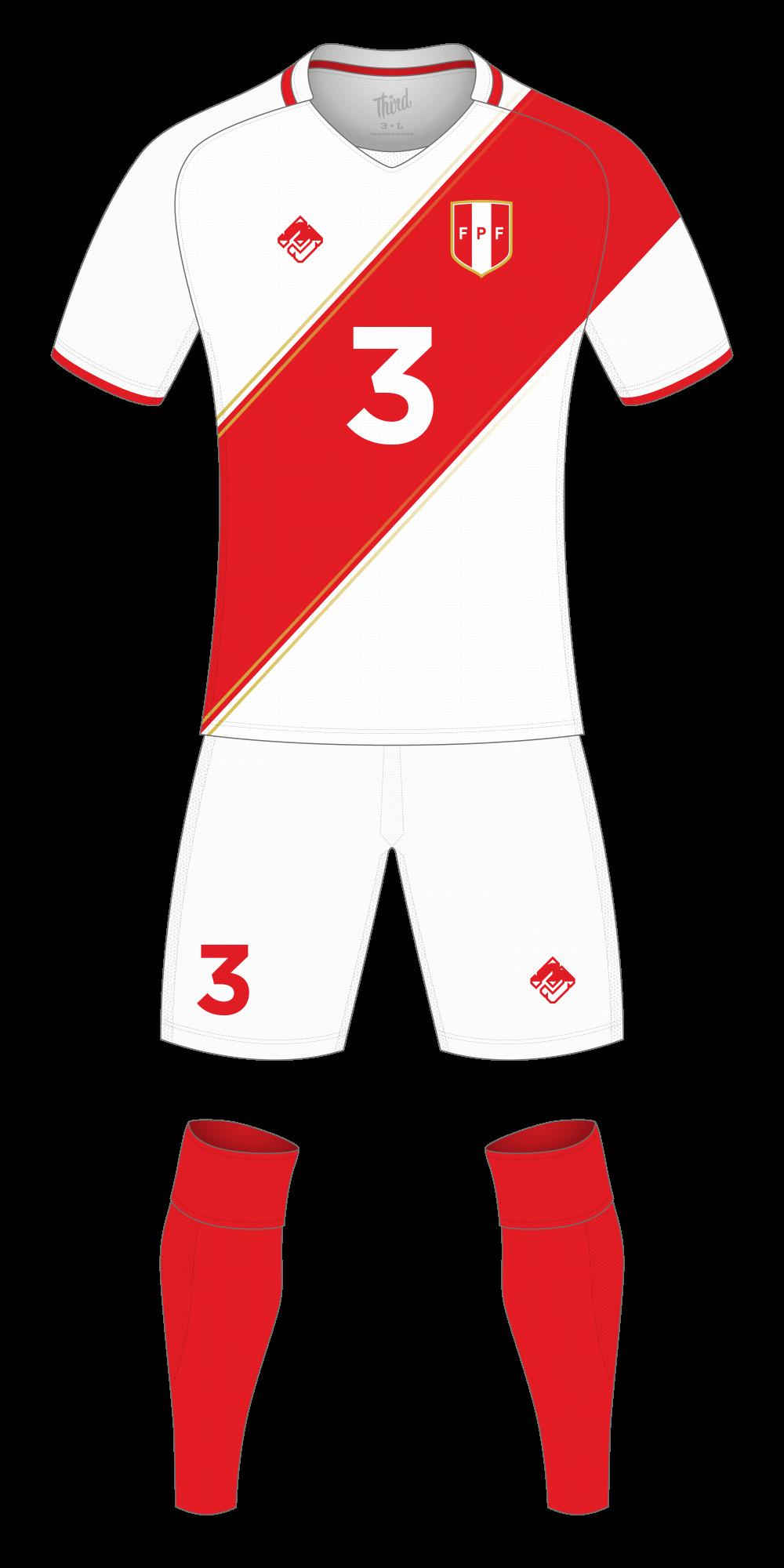 Peru World Cup 2018 concept