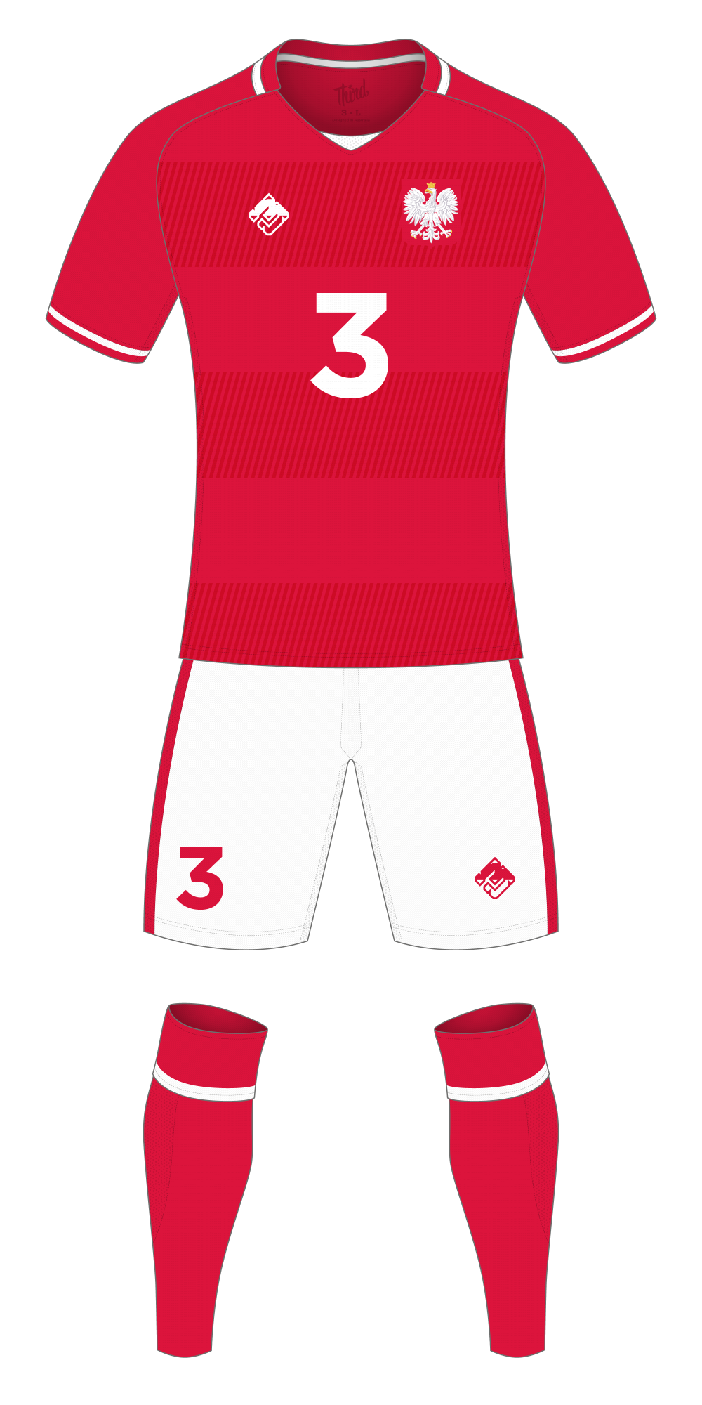 Poland World Cup 2018 concept