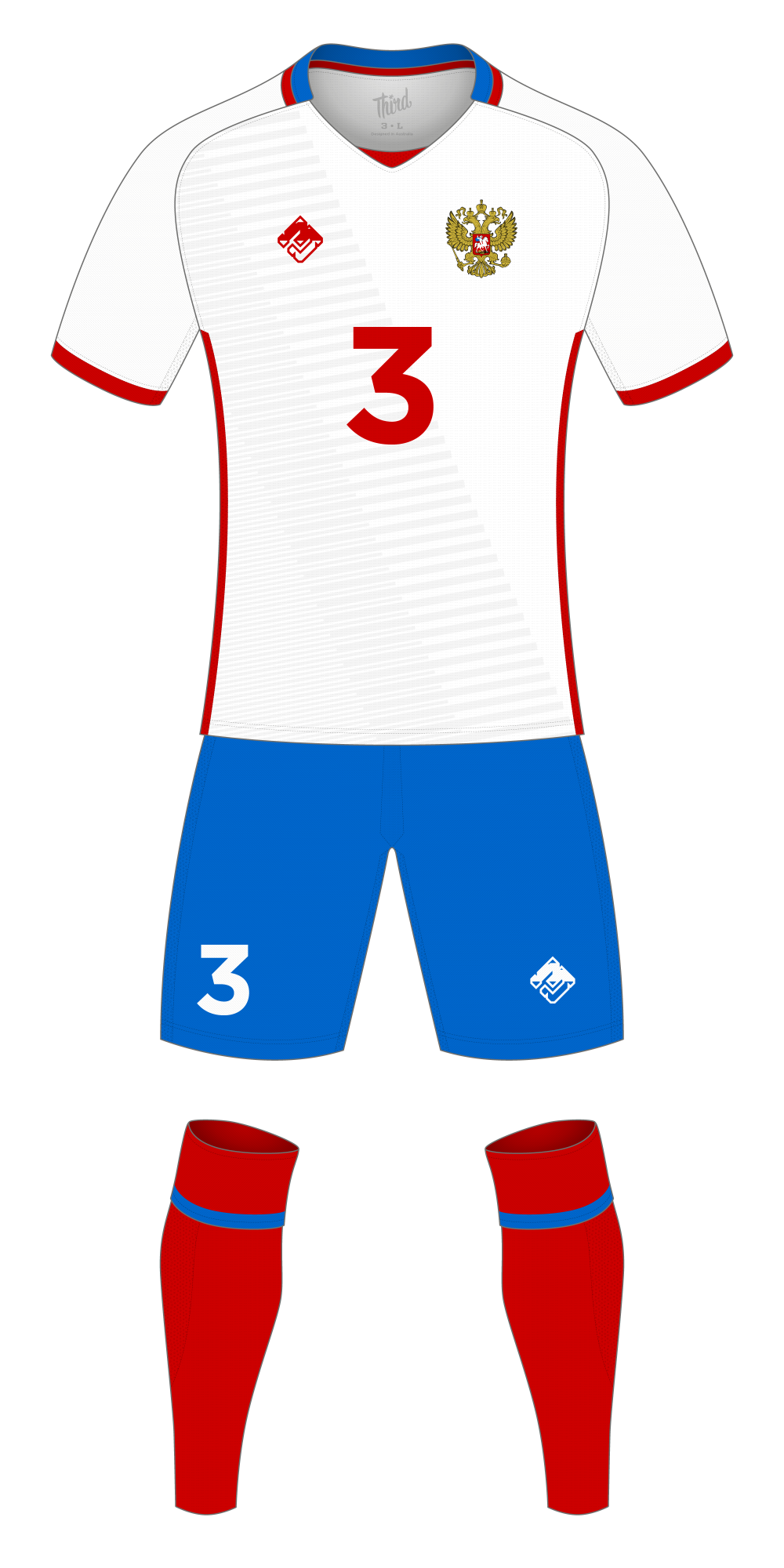 Russia World Cup 2018 concept