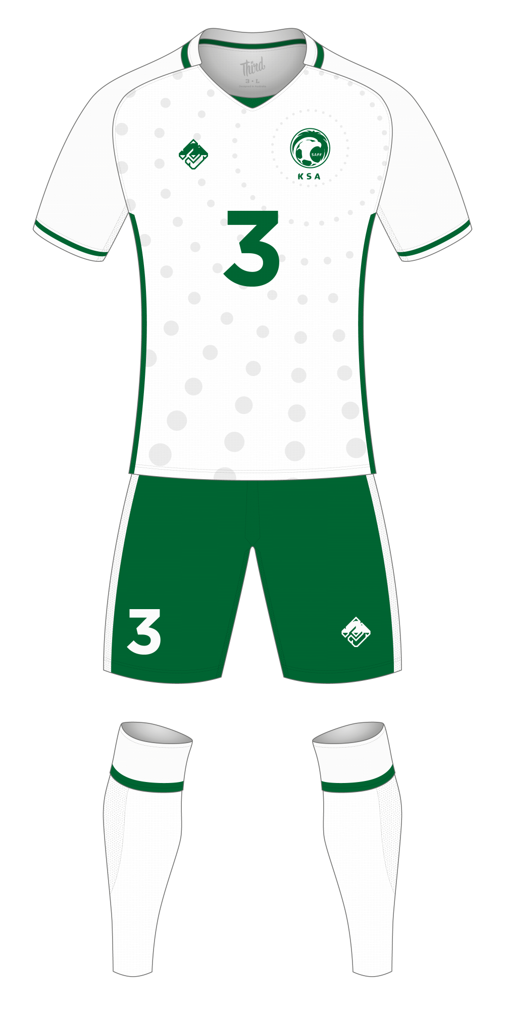 Saudi Arabia World Cup 2018 concept