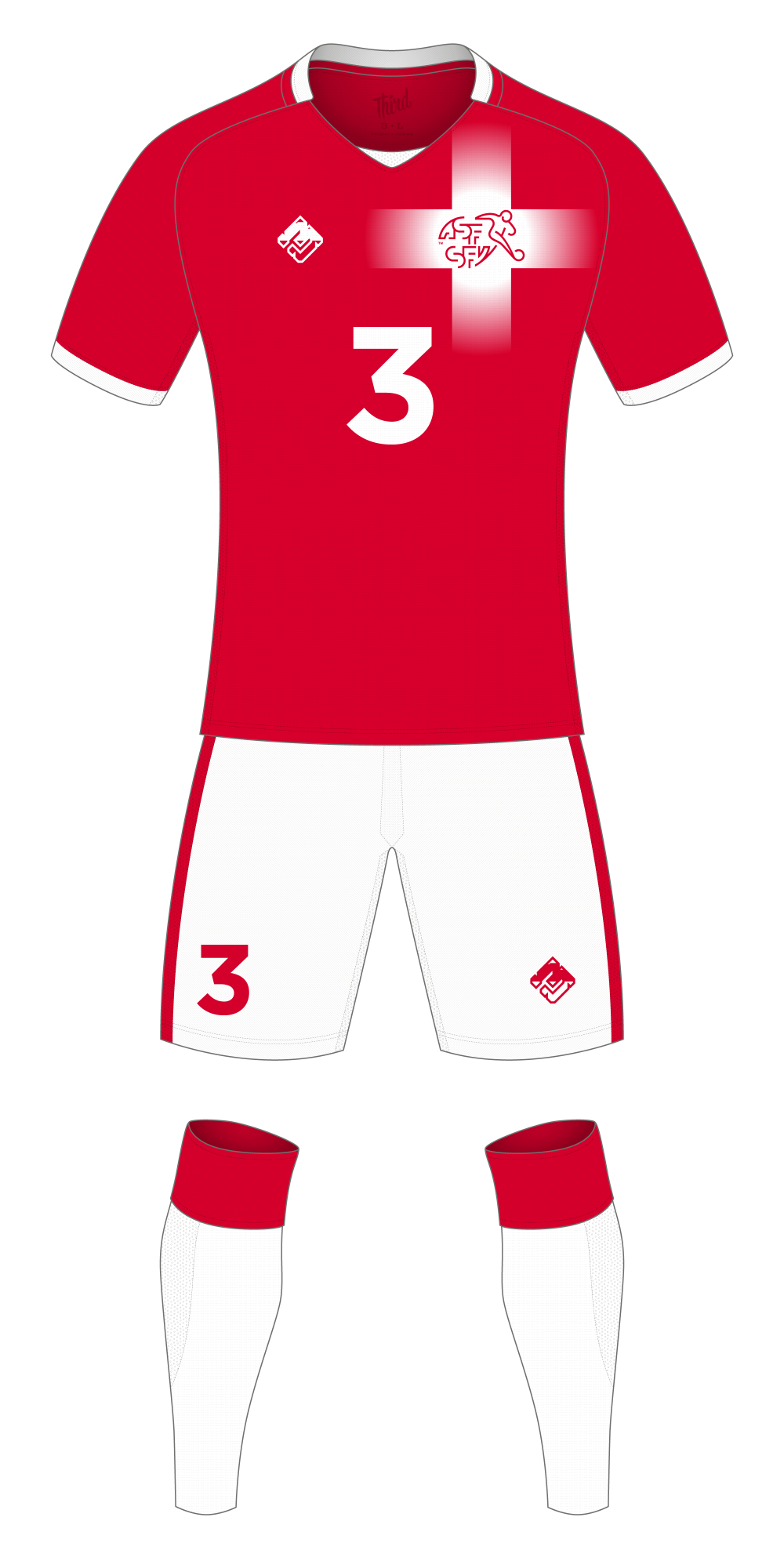 Switzerland World Cup 2018 concept