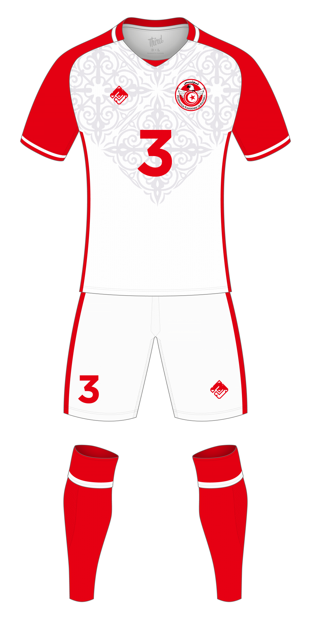 Tunisia World Cup 2018 concept