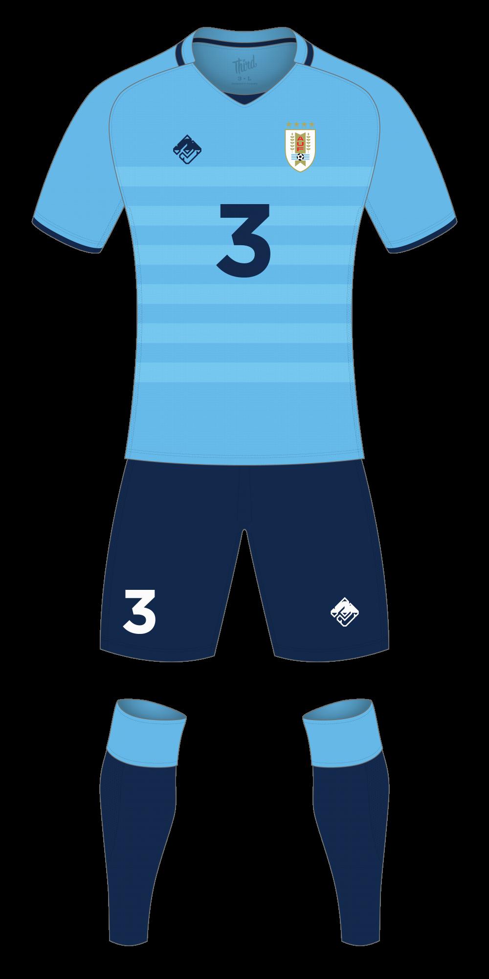 Uruguay World Cup 2018 concept