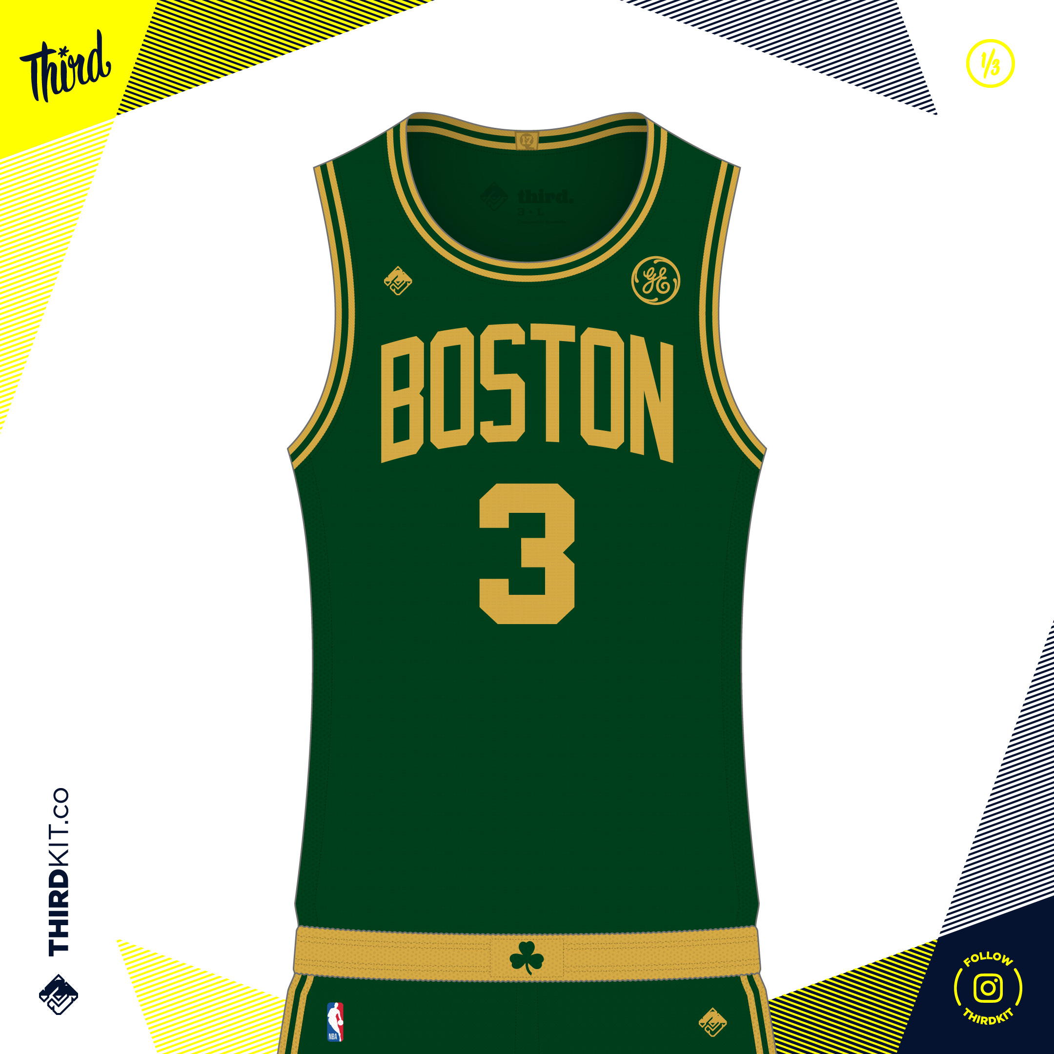 the latest 7f38d b3575 Boston Celtics Statement Edition — Third Sports Design by ...