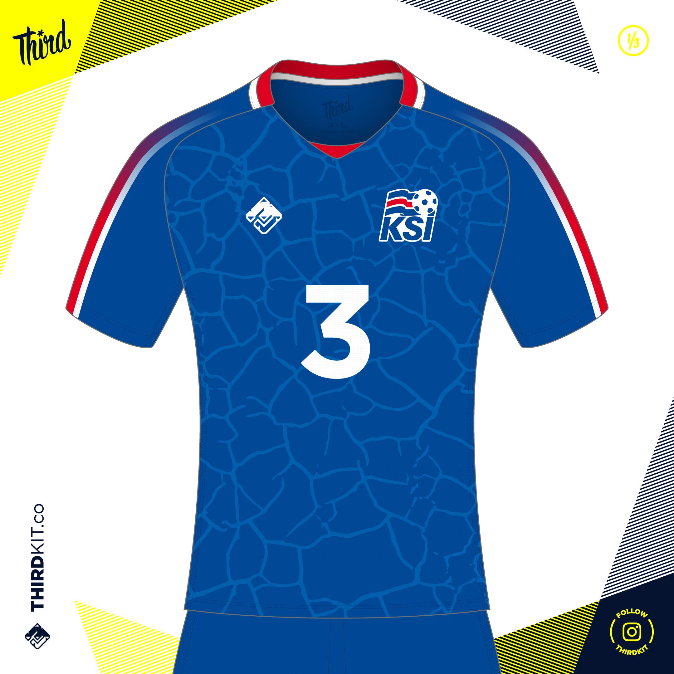 398e71b0feb Iceland World Cup 2018 concept — Third Sports Design by Dean Robinson